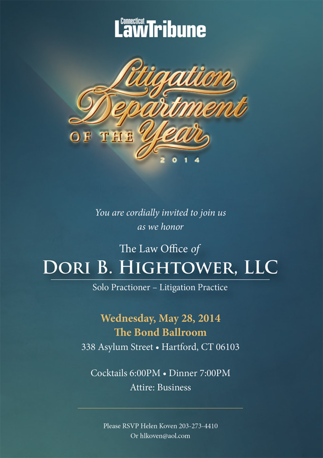 Litigation Department of the Year Invite