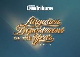 Connecticut Law Tribune Litigator of the Year Award